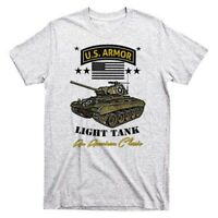 Military T-Shirt Armor Tank Artillery Army Marines Infantry Combat Veteran Tee