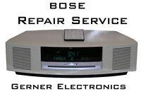 Reparatur Bose Wave music system AWRCC1/2/3/4/5/6, CD defekt