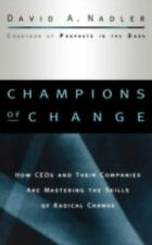 Champions of Change: How CEOs and Their Companies are Mastering the-ExLibrary