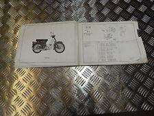 HONDA C70Z C70Z2 PARTS LIST 1977