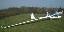 ASH-25 Schleicher Germany Glider Airplane Wood Model Replica Large Free Shipping