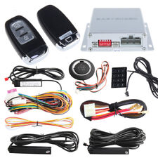 Top Smart Key Rfid Pke Car Alarm System Remote Start Push Starter Password Entry
