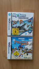 My Sims  Sky Heroes undPlaymobil Piraten-2 NDS Spiele