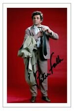 PETER FALK COLUMBO AUTOGRAPH SIGNED PHOTO PRINT