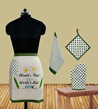 Father Apron  Bistro World's Best Dad Bistro Apron Pack of 4 Pcs