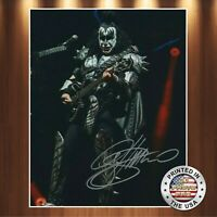 Gene Simmons Autographed Signed 8x10 Photo (Kiss) REPRINT