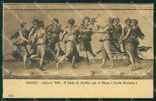 Firenze Città Galleria Pitti Romano cartolina XB5008