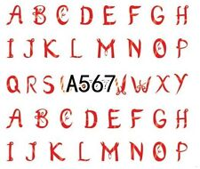 Nail Art Decals Transfers Stickers Letters (A-567)
