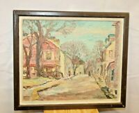 Original Francis Law Durand Oil Painting Listed Artist
