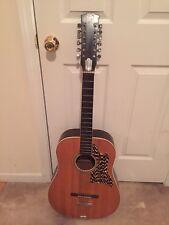 Vintage 12 String Acoustic Guitar - Good Kingston