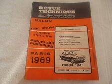 REVUE TECHNIQUE PEUGEOT 504