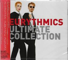EURYTHMICS ULTIMATE COLLECTION CD - 2006 FIRST PRESS JAPAN IMPORT - ANNIE LENNOX