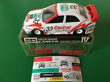 TOMICA 104-3 MITSUBISHI LANCER EVO.IV WRC 97 N1 Castrol 1/59 Made in Japan NEW