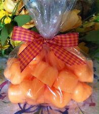 15 PUMPKIN PECAN WAFFLE Wax Tarts Candles CHUNKY HEARTS Scented Handmade Melts