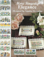 Design Connection - MORE FINGERTIP ELEGANCE - with beads, 15 Designs, c2002, OOP