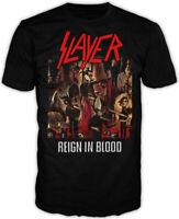 Slayer Reign In Blood Shirt S M L XL XXL Metal Band T-Shirt Official Tshirt Tee