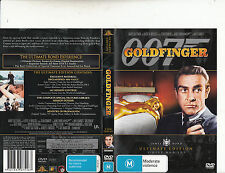 Goldfinger 007-Sean Connery-1964-[2 Disc]-Movie-DVD