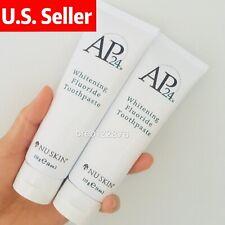 2 Nu Skin Nuskin AP-24 Whitening Fluoride Toothpaste Prevent Cavities & Plaque