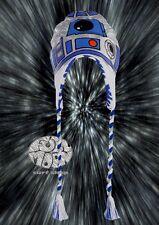 New Star Wars R2D2 Peruvian R2-D32 Cap Laplander Beanie Hat