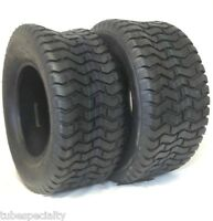 (2)  New 16x6.50-8 TURF TIRES 4 Ply Tubeless Tractor Rider Mower