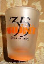2007 Knotts Halloween Haunt Collectible SHOT GLASS 35th Annual Knott's ScaryFarm