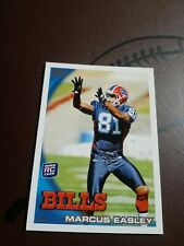 2010 Topps NFL Football #122 Marcus Easley RC Buffalo Bills