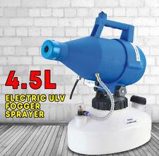 Electric ULV Fogger Sprayer Cold Fogging Machine Disinfection Sprayer, UPS Fast