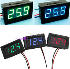 New Mini DC 0-30V LED 3-Digital Display Voltage Voltmeter Panel Accurate Meter e