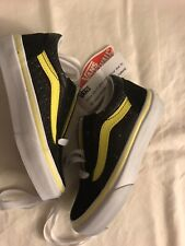New Girls Glitter and in Style Vans Off The Wall Sneakers size 11