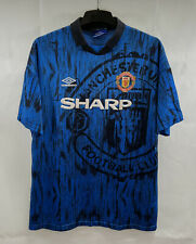 Manchester United Away Football Shirt 1992/93 Adults XL Umbro C108