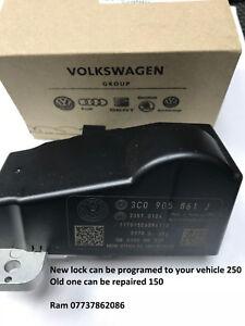 VW Passat B6 STEERING LOCK DEFECTIVE  Repair Service & New Programing 3C0905861J