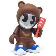 "*RARE* Kidrobot Bots Bear Kid 3"" Vinyl Art Figure Toy Urban Designer Statue"