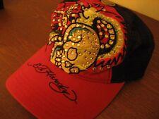 cappello new era cap Ed Hardy red