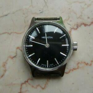 Vintage Armbanduhr Helvetia swiss made