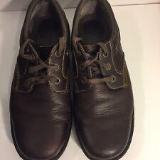 Dr Martens Men's Brown Leather Oxfords Lace Up Shoes Style 8B65 Size 12 M US