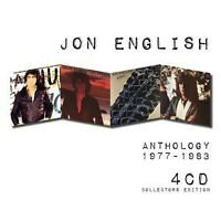 JON ENGLISH Anthology 1977-1983 4CD NEW Words Are Not Enough/Calm/Inroads/Some