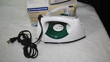 DURABRAND STEAM IRON SPRAY BUTTON-ADJUSTABLE STEAM-INDICATOR LIGHT WITH BOX