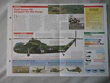Aircraft of the World Card 72 , Group 3 - Sikorsky S-56/CH-37 Mojave