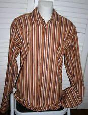 "Duchamp London Mens Striped Dress Shirt 16½ 16.5"" neck"