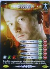 DR WHO INVADER CARD 394 REFUGEE 1 - MINT !!