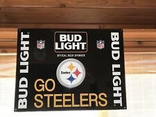 Bud Light Steelers Sign