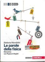 LE PAROLE DELLA FISICA VOL.1 ZANICHELLI, STEFANIA MANDOLINI, 9788808058133
