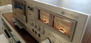Vintage 1980 Hitachi D-230 Stereo Cassette Tape Deck