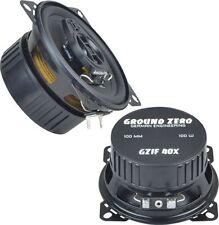 "Ground Zero GZIF 40x - 10cm 4"" 100 Watts 2 Way Coaxial Car Speakers"