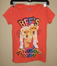 SO BRAND GIRLS GRAPHIC TEE SHIRT  SIZE LARGE