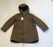 CP BOYS HOODED PARKER KHAKI AGE 8 RRP £429 £175 SALE £129