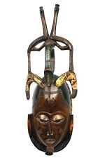 Art Africain Ethnographique - Superbe Masque Ornemental Gouro - Guro Mask ++++++