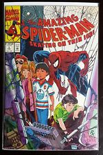 Amazing Spider-Man Skating on Thin Ice 1 - Marvel Comics Todd McFarlane 1990 NM