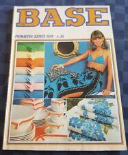 CATALOGO MODA LA BASE PRIMAVERA - ESTATE 1978 NR. 35