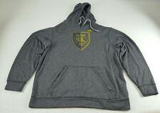 ADIDAS Climawarm Real Salt Lake RSL Hoodie Sweatshirt Gray Mens Size Large